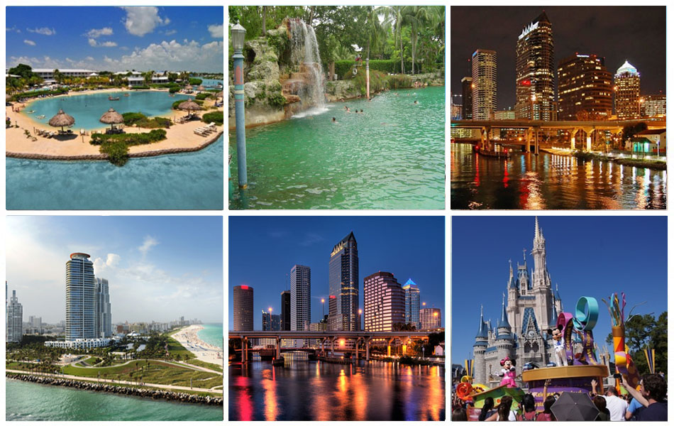 Ten best places to visit in florida for Best places to go for christmas in the usa