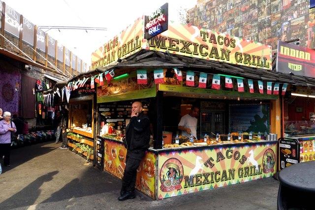 London Food Market Kensington