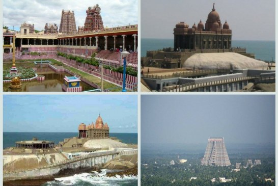 Places to explore in Rameshwaram, Madurai & Kanyakumari