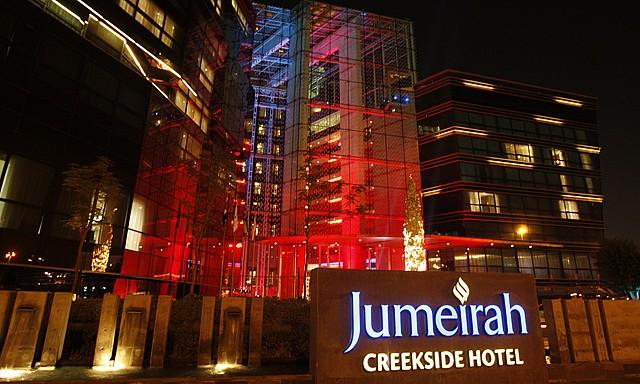 jumerah creekside hotel dubai