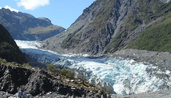 The Fox Glacier of New Zealand