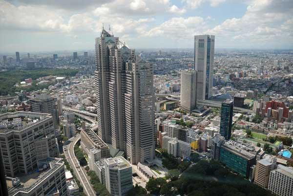 The Modern Buildings of Tokyo