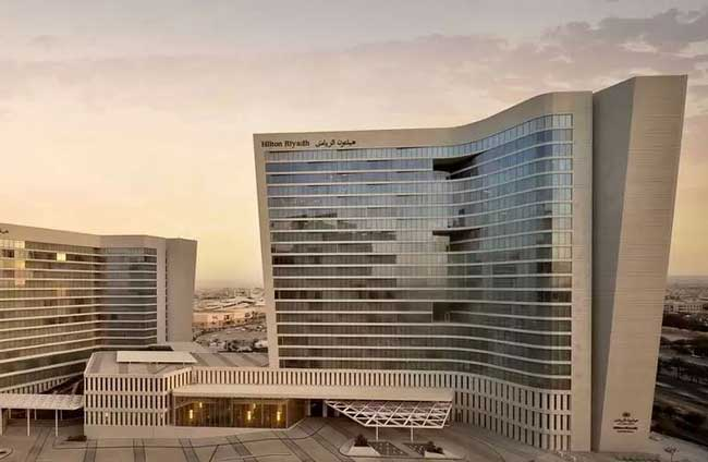 3. Hilton Riyadh Hotel and Residences